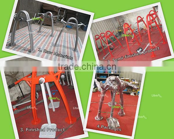 Track Series 127 adults fitness product Double Skiing Machine for body strong exercise LE.SC.007