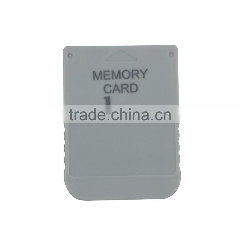 New for Play station for PSX for PS1 1 Mega Memory Card - Saves for PS1 game data on for PS2