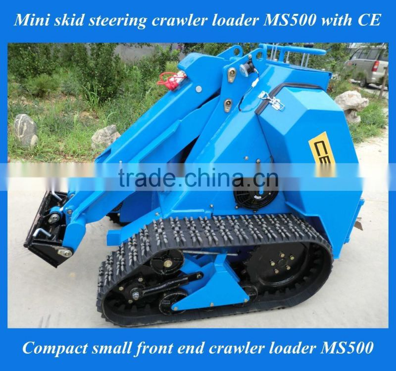 Farming mini tractor MS500 front wheel loader for sale