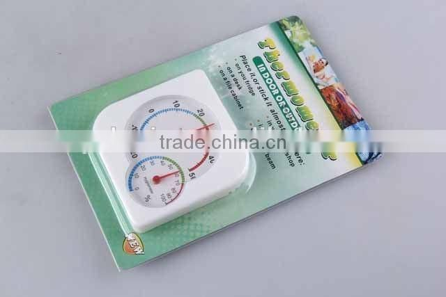 Double Pointer Square THERMOMETER