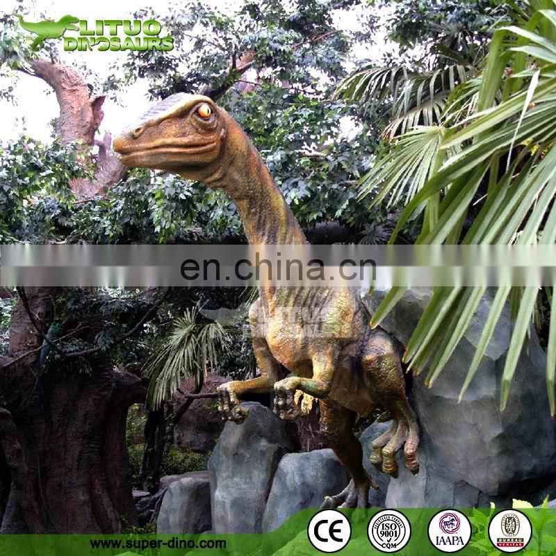 Buy direct from china wholesale animatronic velociraptor for sale , Outdoor play equipment