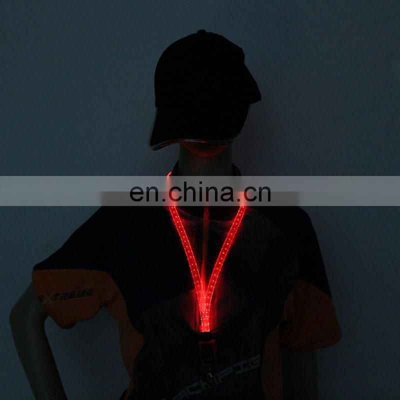 NEW arrival lanyards with logo custom lanyards lanyards glow in dark