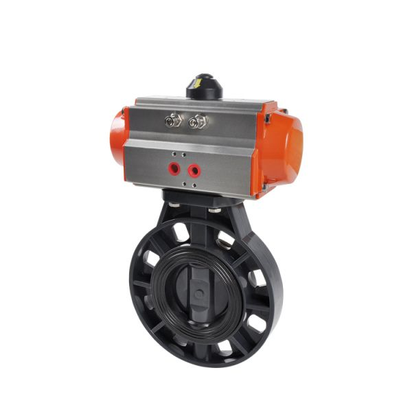 Structure Large Steam Centric Linear Diameter Butterfly Valves Image