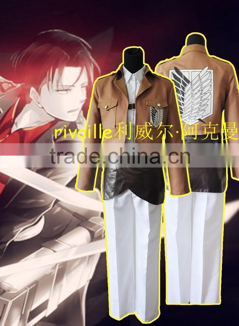 2016 anime cosplay anime school supplies rivaille party costume