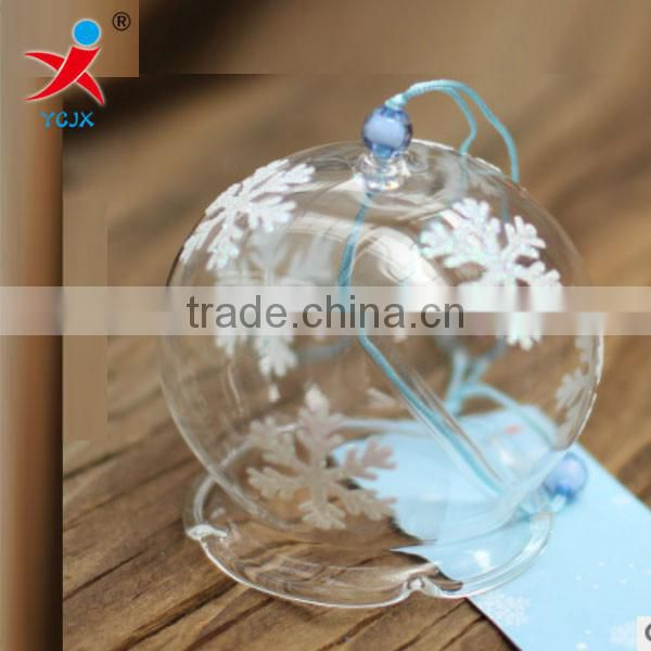 Manufacturers selling gift bells hanging/coloured drawing or pattern glass/creative gift Japanese glass crafts