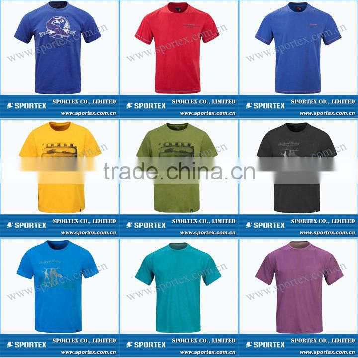 Functional Xiamen Sportex men's dry fit shirts, dry fit t-shirt, t-shirt for men OEM#13043
