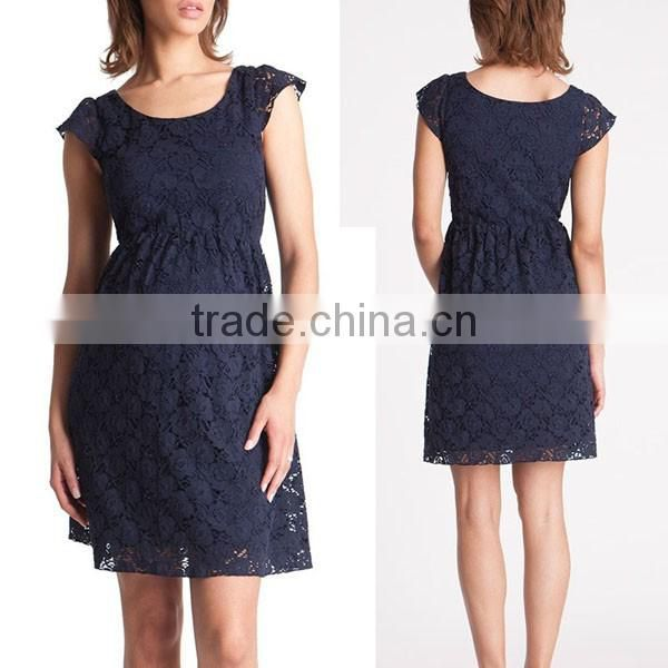 e1de15301ad new design black and navy lace dresses for pregnant women sex ...