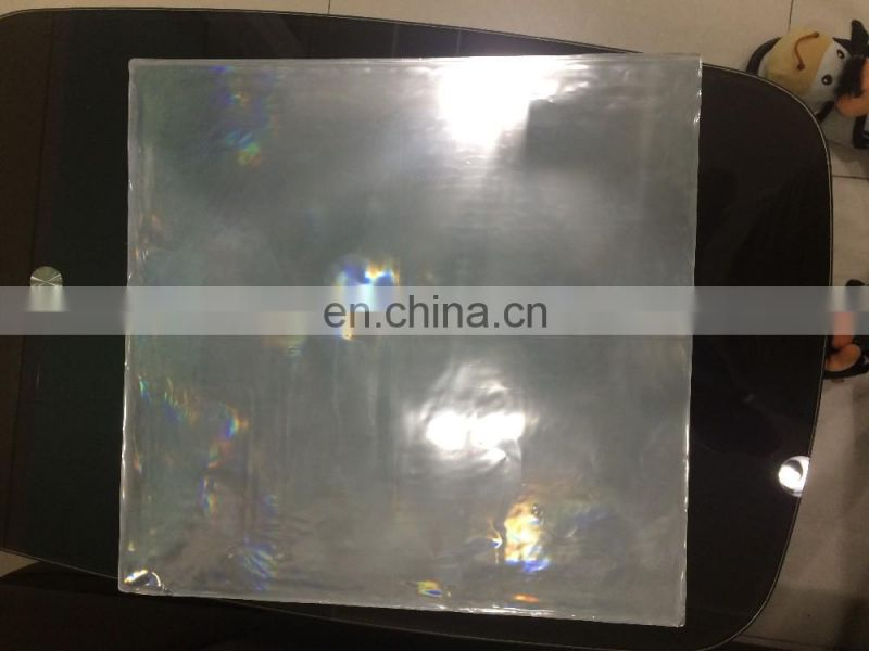 High Visibility Reflective plain PVC sheet