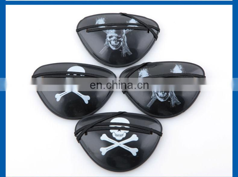 New arrival wholesale Halloween decoration Props Pirate single eye mask Goggles