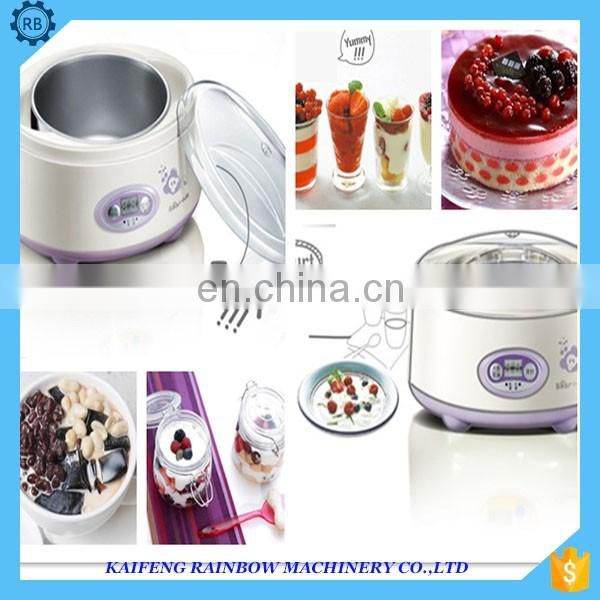 Multifunctional Best Selling Yogurt Ice Cream Maker Machine Home-use Yogurt Making Machine with 8 green cap cups