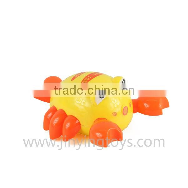 Lovely pull string plastic toy shrimp with EN71
