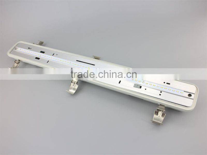 Excellent Tri Proof Garage Lighting Fixture replacement single or double 1.5m T8/T5 led tube light