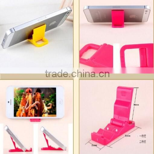 Universal cell phone stand / foldable phone holder / mini phone rack