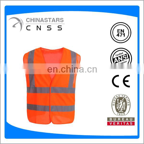 ANSI class 2 high visibility custom safety vest