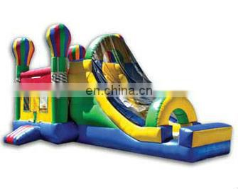 High quality double slides inflatable combo