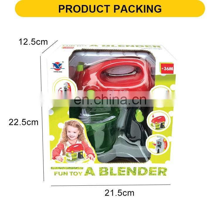 Hot selling kitchen toy set the beautiful plastic blender