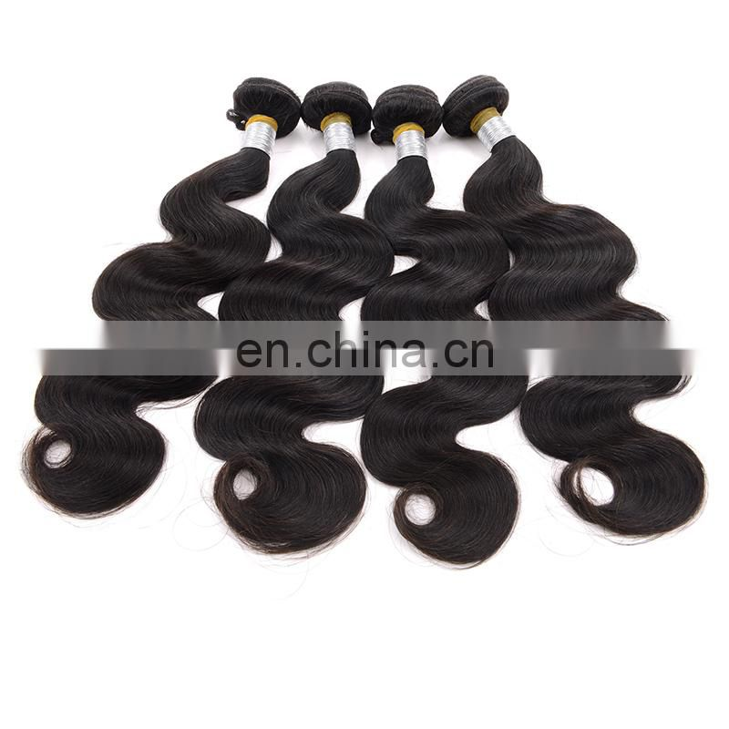 unprocessed raw indain hair body wave 100% human hair