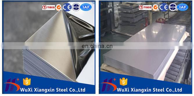 18 gauge NO.4 finish stainless steel sheet 304