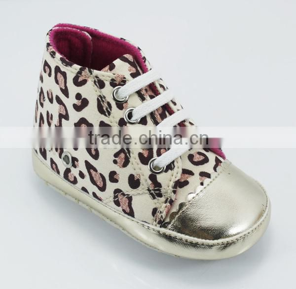 baby shoes cheap pink leopard print baby