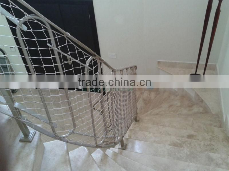 High Strength Nylon Debris Barrier Netting,nylon Stair Safety Netting,nylon  Safety Net