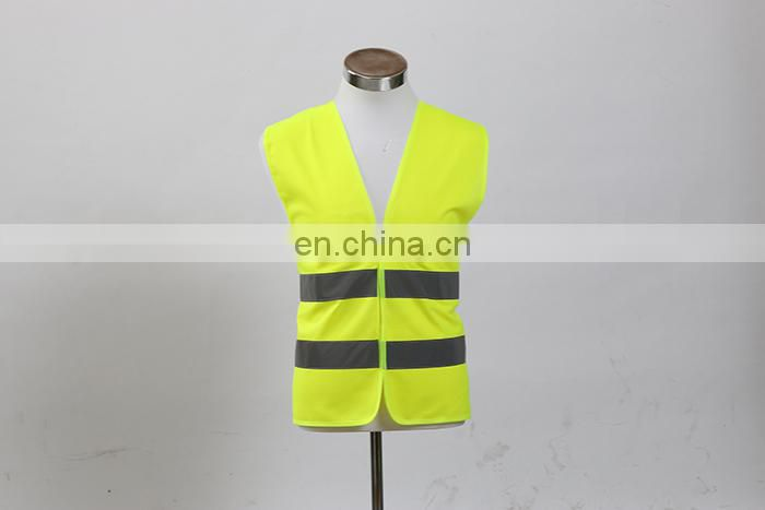Wholesales ENISO20471 Strandard High Visibility Vest Construction Work vest