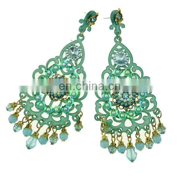 VERY POPULAR HOT NEW DEVELOPMENT GOLD JEWELLERY EARRINGS 2015 NEW ARRIVAL WOMEN EARRINGS
