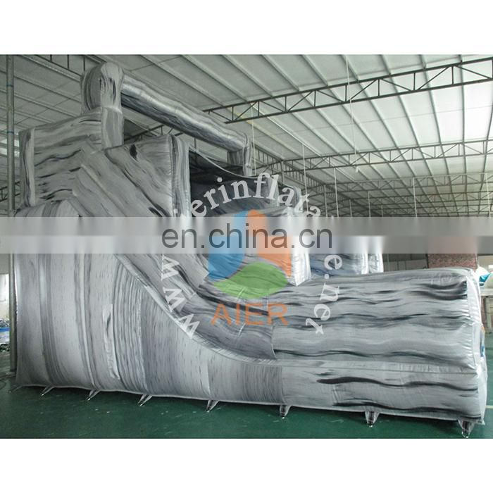2017 Commercial big naughty inflatable water slides for sale,