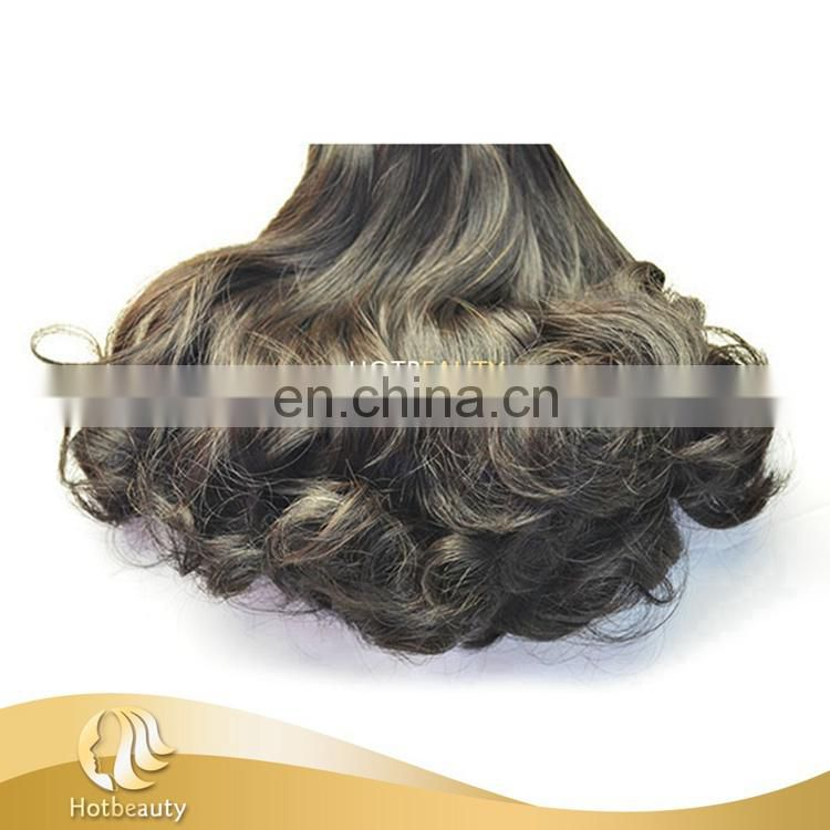 2017 Can Be Dyed High Quality Raw Human Hair 10''-20'' Available, Wholesale Price Human Hair Spring Curl
