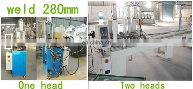 Plastic profile joint plastic window machine