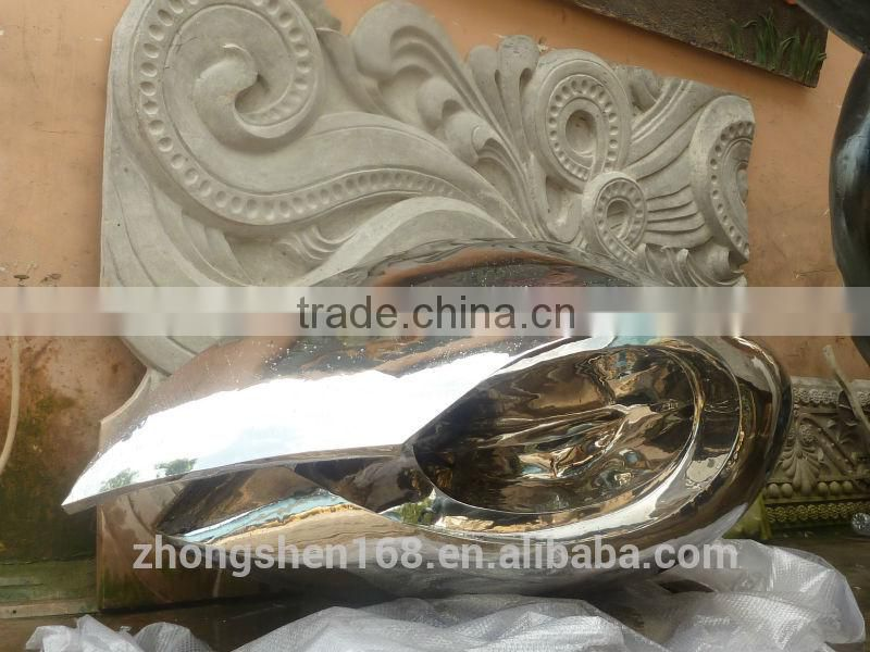 Guangzhou manufacturers custom metal stainless steel/copper/abstract sculpture school/hotel/square/stores