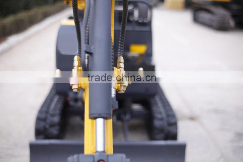 zero swing mini excavator,imported engine,Rubber track