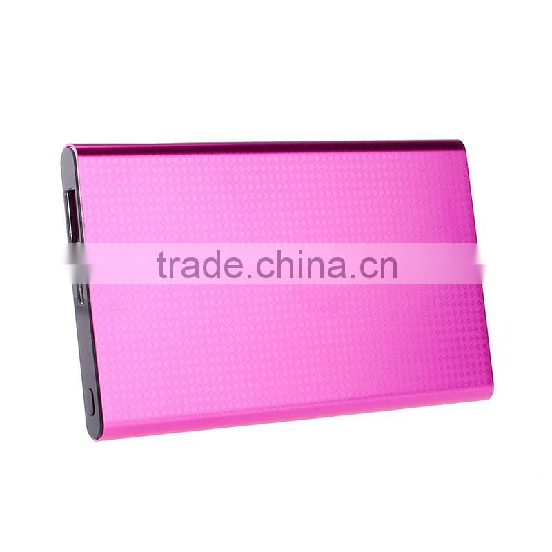 Wholesale 4000mah ultra thin li-polymer battery power bank for samsung