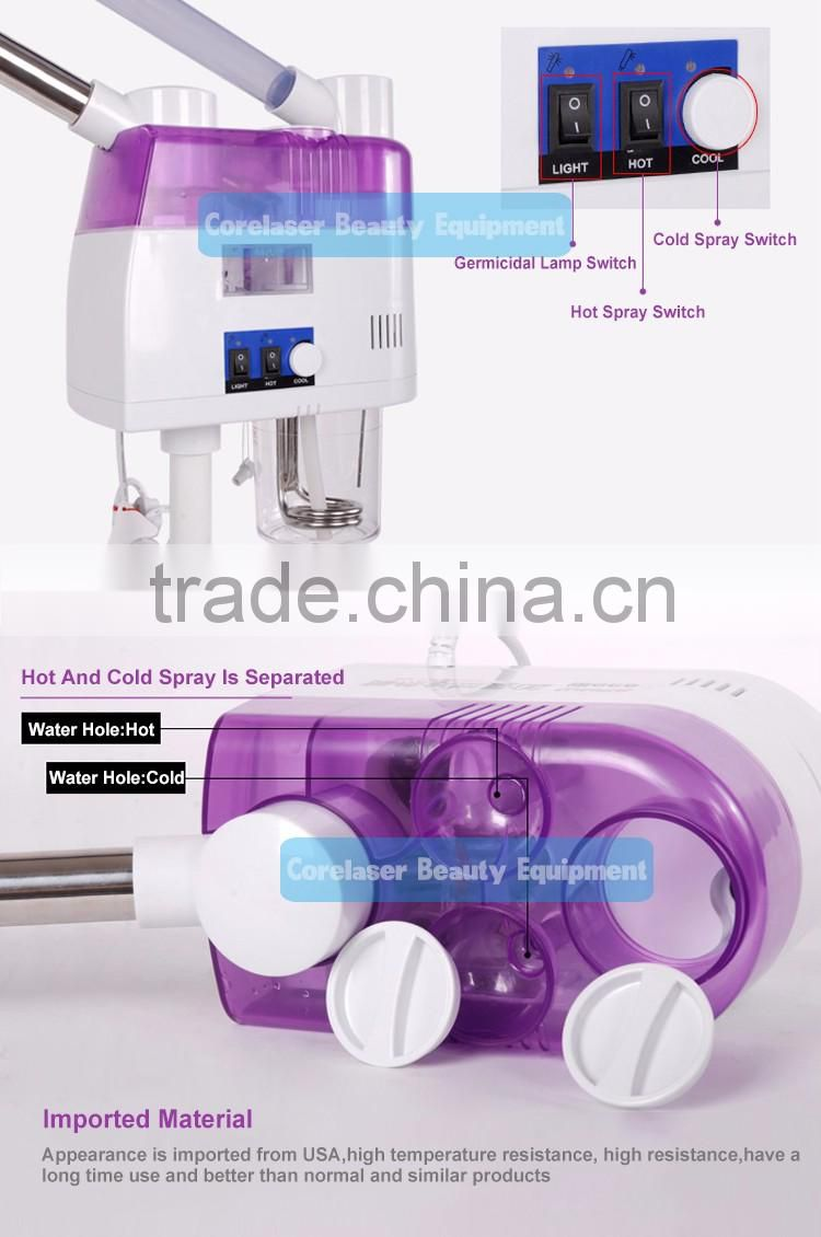 Nano Ionic Facial Steamer home use electric facial steamer portable facial steamer