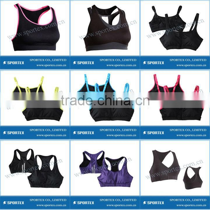 Functional Xiamen Sportex sports bra, bra top, ladies bra top OEM#13110
