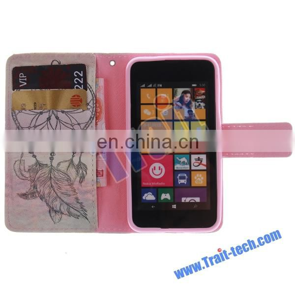 Colored image Leather Case for Nokia Lumia 530