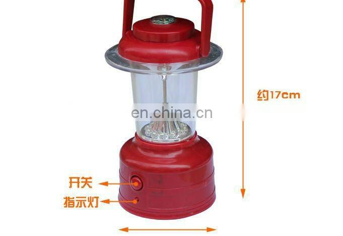 camping lamp for outdoor use