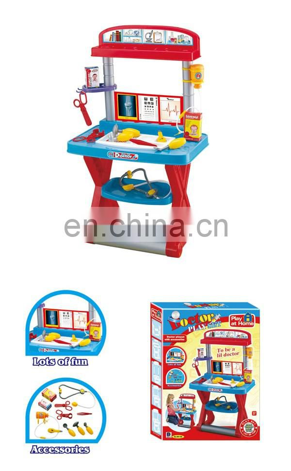 Wholesale plastic children doctor kits toys