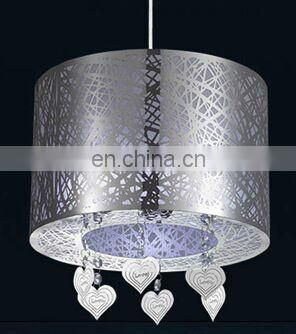 2016 hot selling products stainless steel welding rings lampshade can be customized