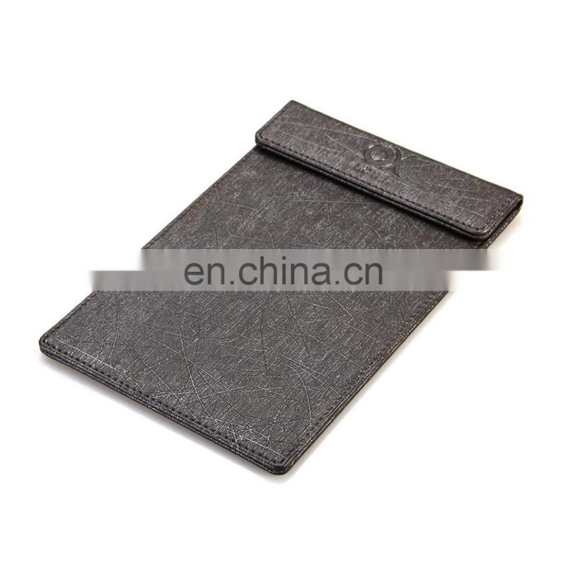 Factory New Style Design Wholesale Leather Pocket Custom Memo Pad