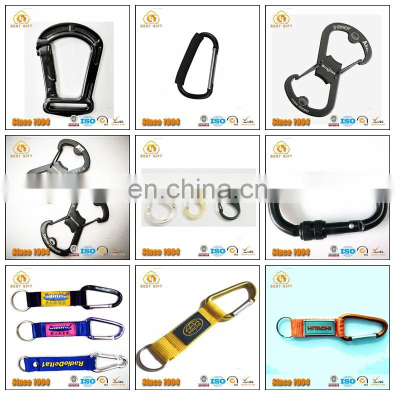 Newest Heavy Duty Stainless Steel Climbing Gear Wiregate Carabiner Clips