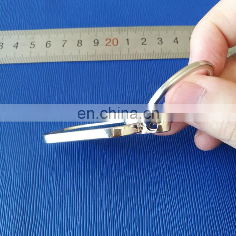 metal keychain for car promotional gifts logo can be inscribed