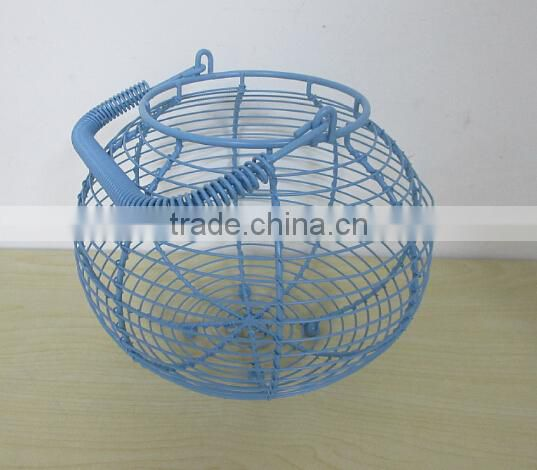 lovely wire egg storage basket