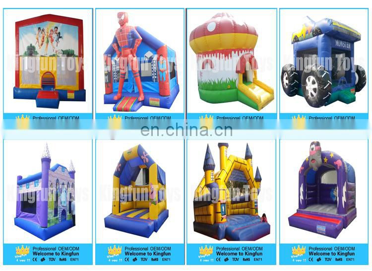 Tropic Inflatable jumper with slide/inflatable bounce combo