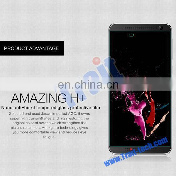 Nillkin Brand Amazing H+ Nanometer Anti-Explosion Tempered Glass Screen Protector Guard Film for HTC One E9 Plus