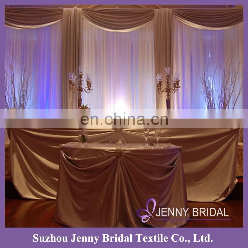 BCK095 backdrop design sample for wedding and party fabric stage backdrop fabric