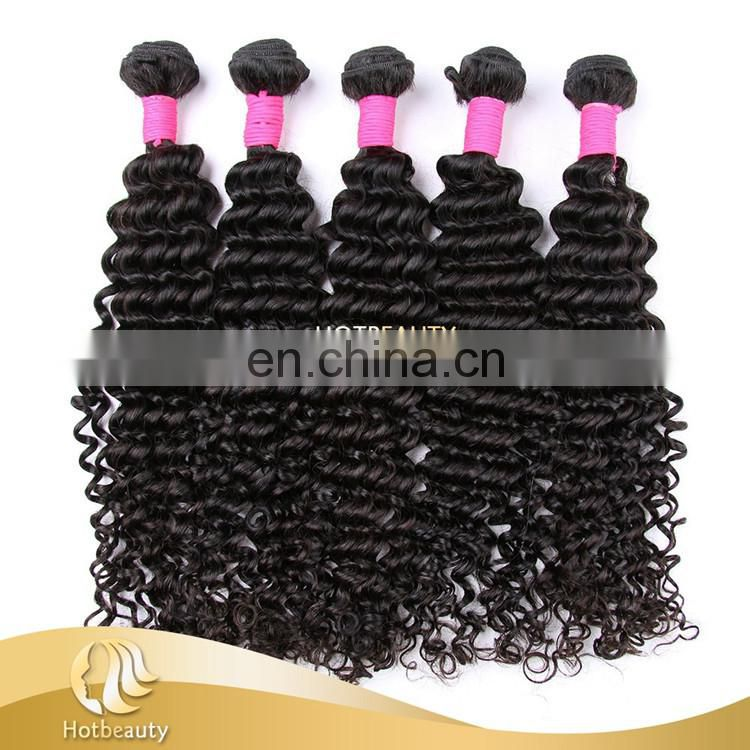 100% human hair wholesale brazilian hair deep wave curly