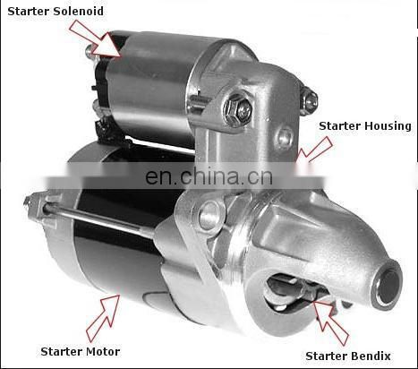 China Zhejiang Wenzhou Songtian High Performance Starter motor KIA Pride