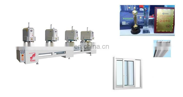 4 _ head seamless welding machine upvc window s and doors making equipment Of Low Price