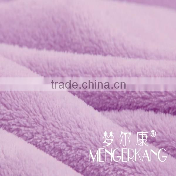 Micro plush blanket cheap price hot selling
