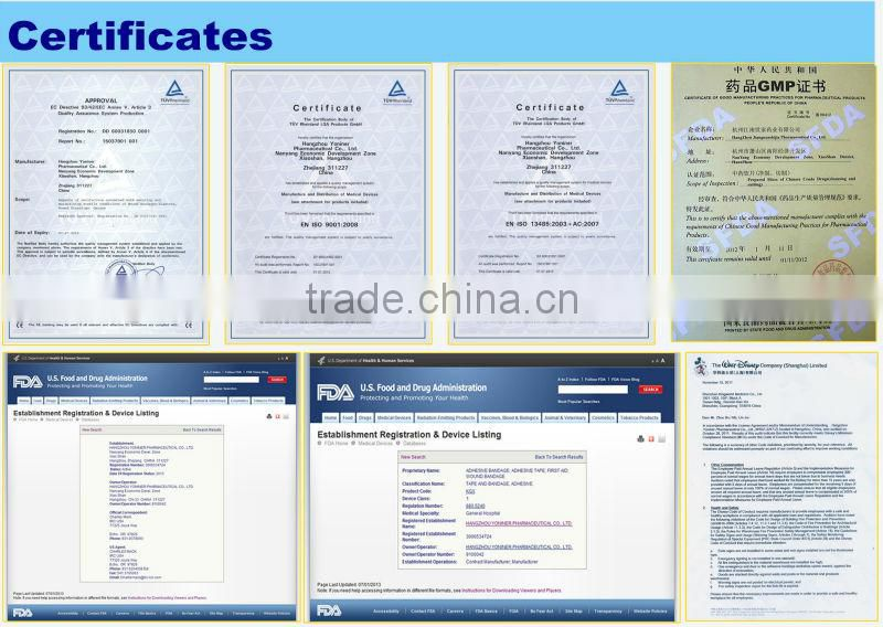 Micropore Non-woven Paper Tape Plaster nitto CE FDA Certificated Manufacturer